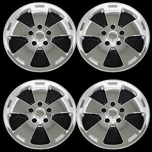 Set Of 4 Chrome 2006 2012 Chevrolet Impala 16 Wheel Skins Hub Caps Rim Covers