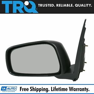 Trq Manual Side View Mirror Driver Left Lh For Nissan Xterra Frontier Truck
