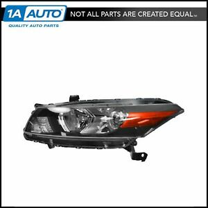 Headlight Headlamp Driver Side Left Lh For 11 12 Honda Accord 2 Door Coupe