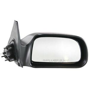 Mirror Manual Remote Passenger Side Rh Right For 00 04 Tacoma Pickup Truck