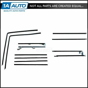 Window Sweep Run Channel Seal Set Of 12 Kit For 66 77 Ford Bronco