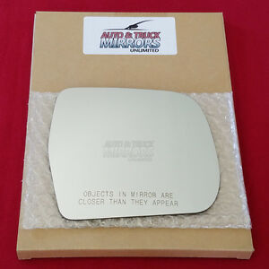 New Mirror Glass Adhesive For 01 07 Toyota Highlander Passenger Right Side