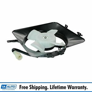 Ac A c Air Conditioning Condenser Cooling Fan W Motor For 90 93 Acura Integra