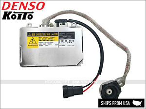 Genuine Denso Koito Oem Hid Xenon Ballast Igniter 01 05 Lexus Dot Made In Japan