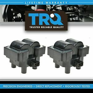 Ignition Coil Pair Set Of 2 For Land Rover Discovery Range Rover