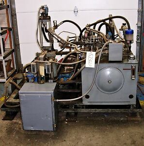 sls1d32 Twin Pumps Hydraulic Power Supply Unit 7 5hp 15236lr