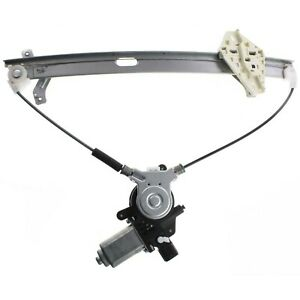 Power Window Regulator For 96 2000 Honda Civic Front Driver Side With Motor