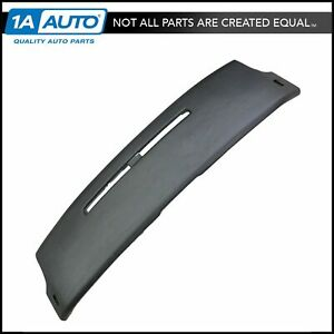 Molded Dash Board Pad Cover Cap Black New For 84 92 Chevy Camaro