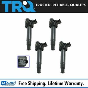 Trq Ignition Coil Pack Set Of 4 For Gs430 Gx470 Ls430 Lx470 Sc430 4runner Tundra