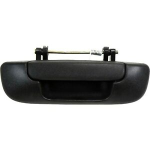 Tailgate Handle For 2002 2008 Dodge Ram 1500 Textured Black Plastic