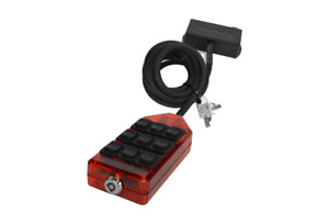 Avs 9 Switch Box Red Color Air Ride Suspension Bags Pn Arc 9 Rd