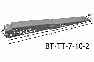 Race Ramps Flatbed Extension Ramps Bt tt 7 10 2 For Low Cars
