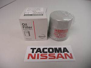 Genuine Nissan Oil Filter 15208 65f0e W Crush Ring 350z 370z Altima Sentra