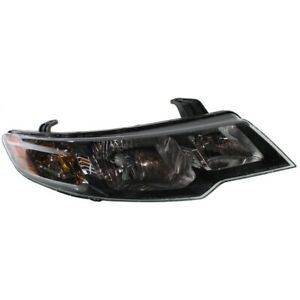 Headlight For 2010 2011 2012 2013 Kia Forte Hatchback Or Sedan Right With Bulb