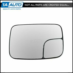 Dorman Tow Package Manual Mirror Glass Lh Left For Dodge Ram 1500 2500 3500