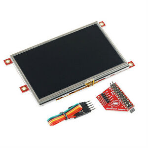 4d Systems lcd 43pt pi Raspberry Pi Display Module 4 3 Touchscreen Lcd New