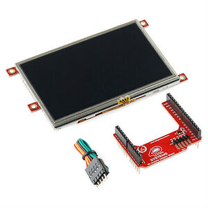 4d Systems lcd 43pt ar Arduino Display Module 4 3 Touchscreen Lcd New