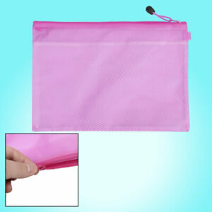Fuchsia Stationery A4 Paper Pens Paper File Document Bag Holder