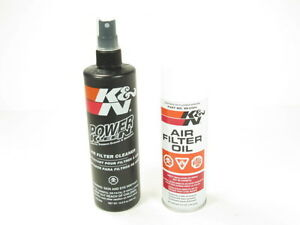 K N Recharger Air Intake Filter Cleaning Kit Cleaner Spray Oil 99 5000 New
