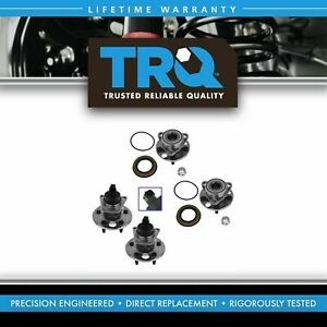 Trq Front Rear Wheel Hub Bearing Kit Set Of 4 For Buick Chevy Olds Pontiac