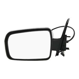 Power Mirror For 2004 2012 Mitsubishi Galant Driver Side Textured Black