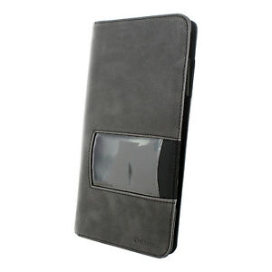 Rolodex Identity Business Card Book 96 Card Capacity Black gray Rol1752535