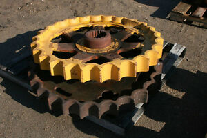 Fiat Allis Chalmers Hd 21p Dozer Pair Of Rebuilt Sprocket Assembly Berco Cat Nos