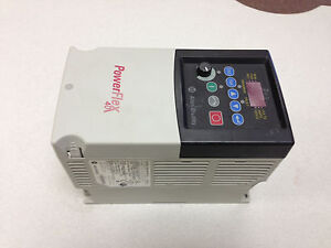 Allen Bradley Powerflex 40 22b a5p0n114 1hp refurbished