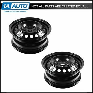 15 Inch Steel Replacement Wheel Rim New Pair For 12 13 Ford Focus