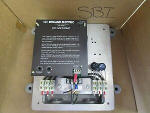 Reuland Electric Rtc Soft Start Control 20hp 20 Hp Rtc 055 346 dnk x 460v 28a