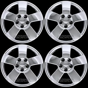 4 Chrome Fits Chevy Hhr Malibu Pontiac G6 16 Bolt On Wheel Covers Rim Hub Caps
