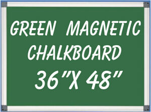 Magnetic Green Chalkboard Menu Sign Board 36 X 48