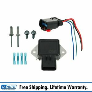 Radiator Cooling Fan Relay Harness Kit Set For Chrysler Dodge Jeep Plymouth