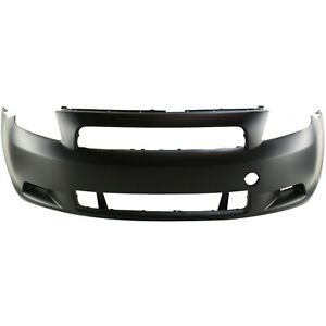 Front Bumper Cover For 2005 2010 Scion Tc With Fog Lamp Holes Primed 5211921906
