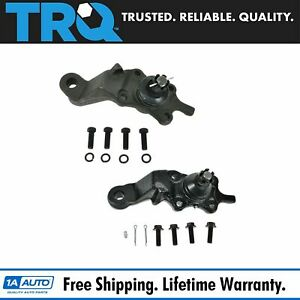 Front Lower Balljoint Ball Joint Pair Set Of 2 For 95 04 Toyota Tacoma 4wd