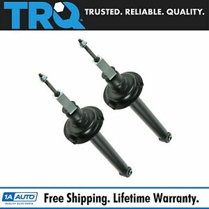Trq Rear Shock Absorber Pair Set Of 2 For 95 05 Chevy Cavalier Pontiac Sunfire