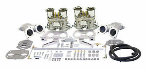 Empi Vw Dual 44 Hpmx Type 1 Carb Kits With Out Air Cleaners 47 6319