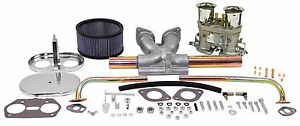 Empi Vwsingle 40 Hpmx Type 1 Carb Kits With Chrome Air Cleaners 47 7315