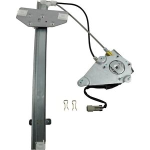 Power Window Regulator For 2002 2006 Jeep Liberty Front Right With Motor