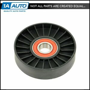 Serpentine Accessory Belt Tensioner Pulley Smooth For Saab 9 3 9 5 2 0l