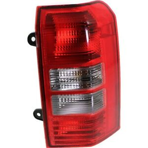 Tail Light For 2007 Jeep Patriot Passenger Side Assembly