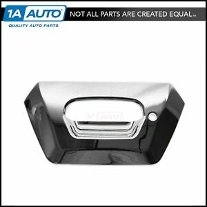 Tailgate Handle Bezel Chrome With Lock Provision For 02 06 Chevy Avalanche