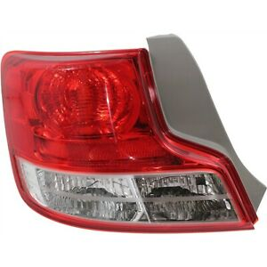Tail Light For 2012 2013 Scion Tc Driver Side W Socket Hole