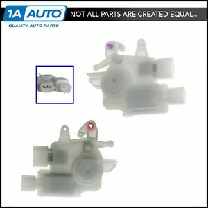 Power Door Lock Actuator Left Right Pair Set For Honda Accord Acura Tl Tsx