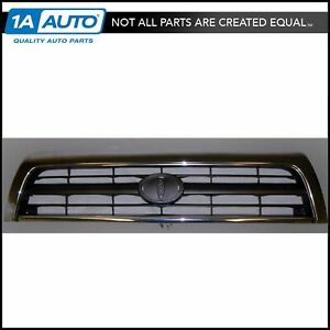 Grill Grille Chrome Black Front End For 96 98 Toyota 4runner 4 Runner