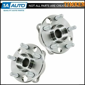 Timken Front Wheel Hub Bearing Pair Set Kit For Chevy Buick Olds Pontiac