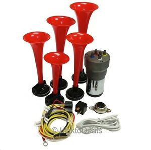 Dixie Car Musical Air Horns Dukes Of Hazzard Button Installation Wire Kit