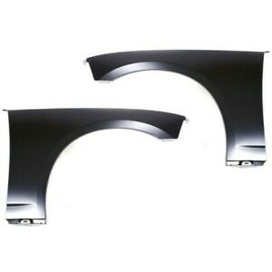 Fender For 2006 2010 Dodge Charger Set Of 2 Front Left Right Side Primed Steel