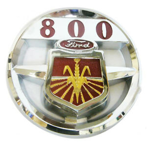 Nda16600a Ford New Holland Tractor 800 Hood Emblem