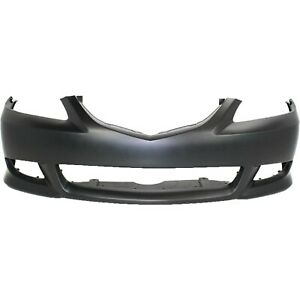 Bumper Cover For 2003 2005 Mazda 6 Front Sport Type Primed With Fog Light Holes